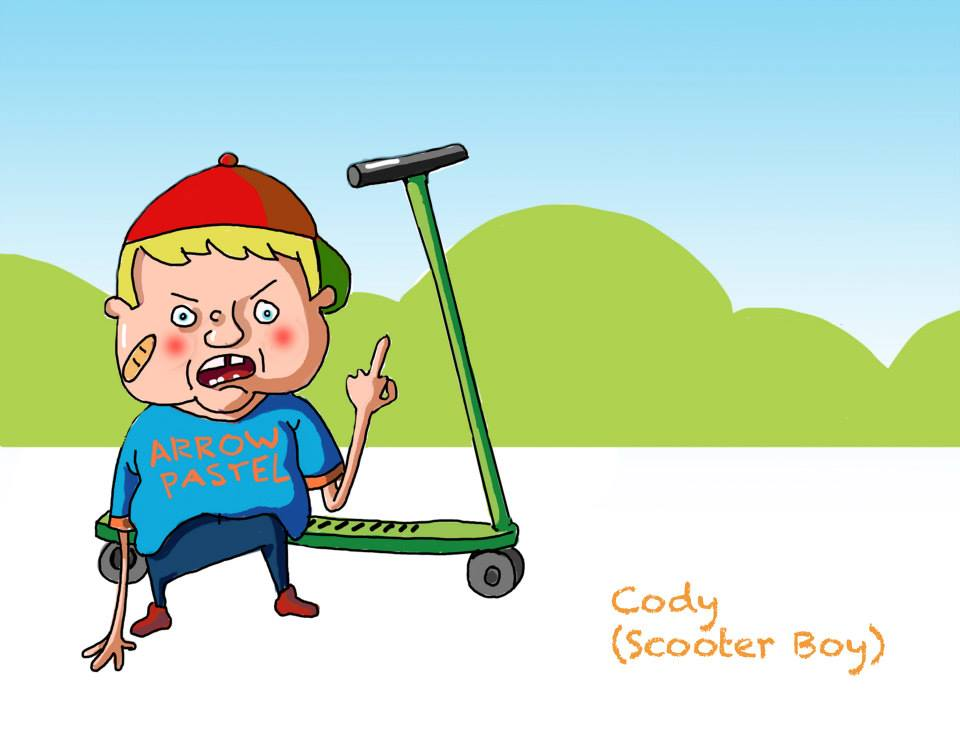 Cody (Scooter Kid)