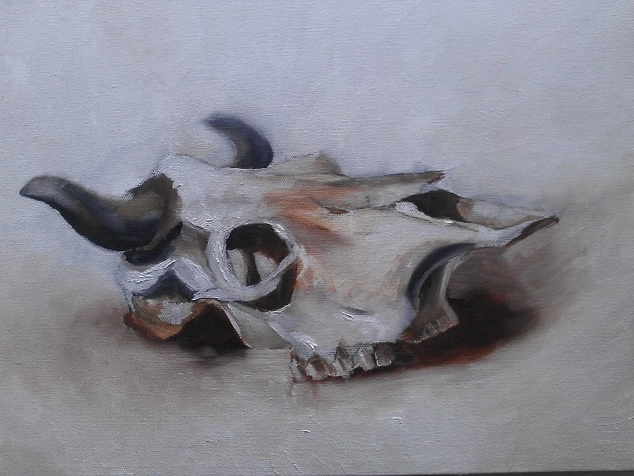 Still Life - Oil paint on canvas